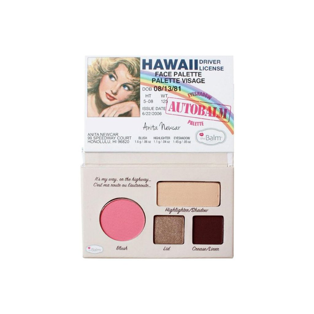 the Balm Hawaii Autobalm Makeup Palette - 1.45g - brandstoreuae
