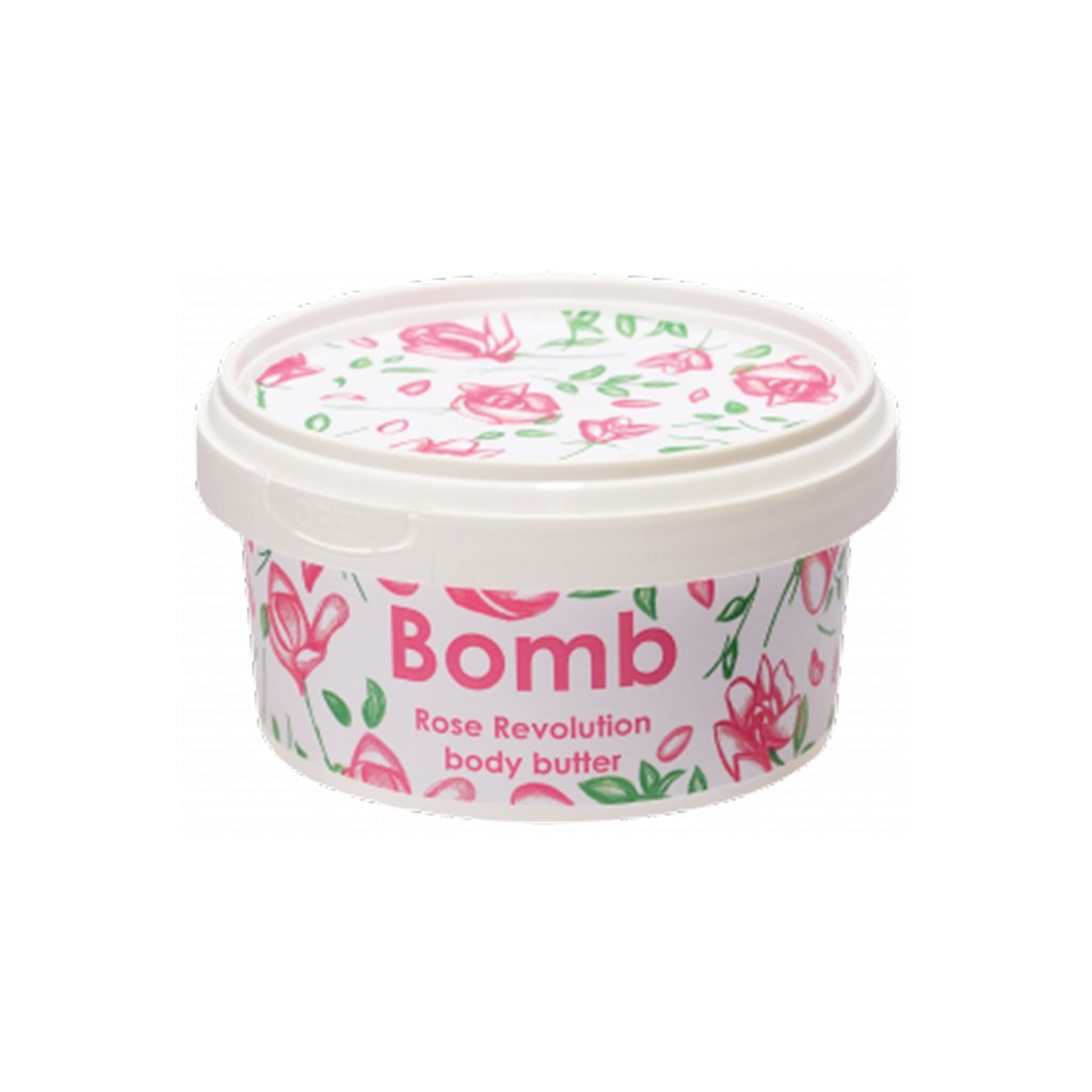 Bomb Cosmetics - Body Butter - Rose Revolution
