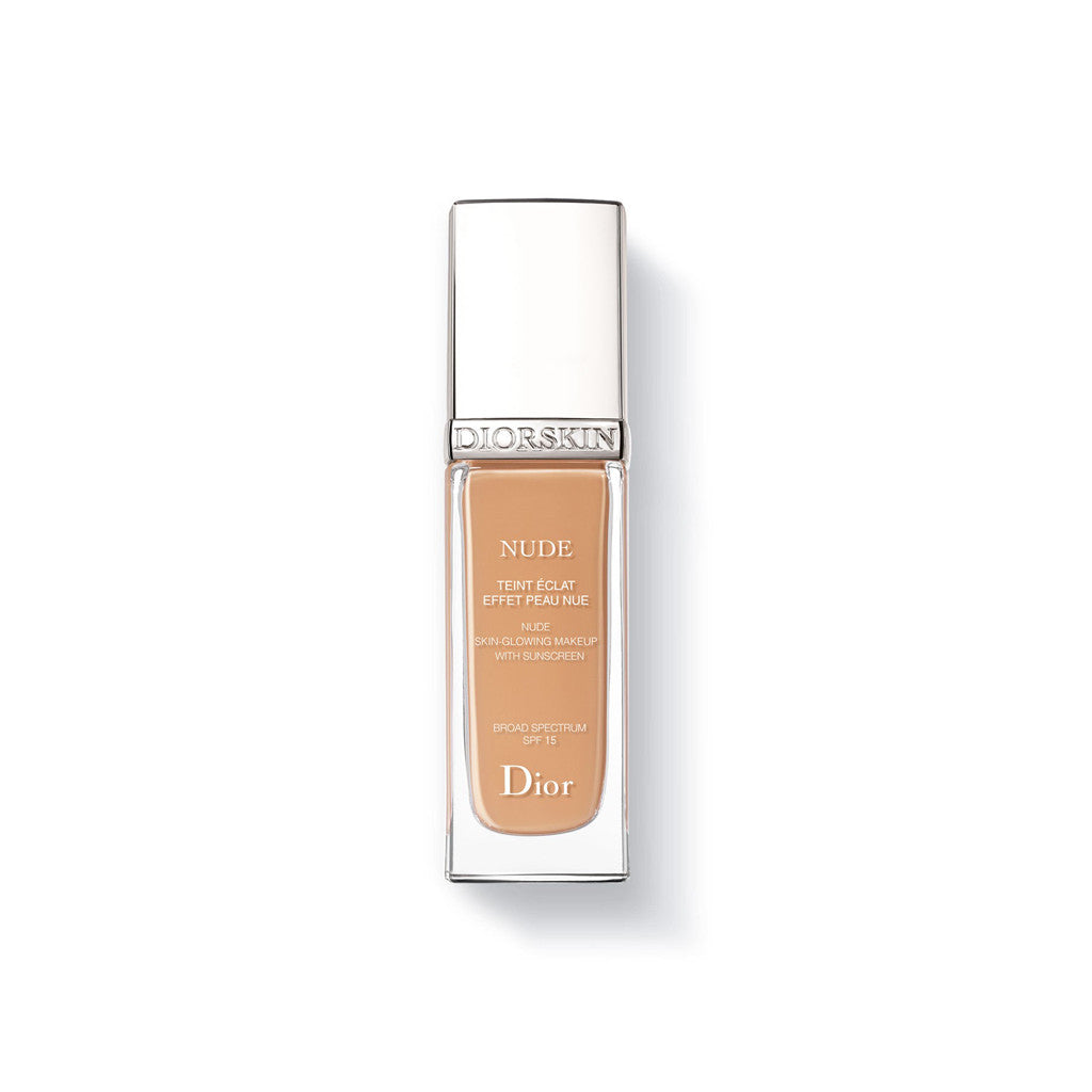 Dior - Diorskin Nude - Natural Glow Radiant Foundation (040 Honey Beige) - brandstoreuae