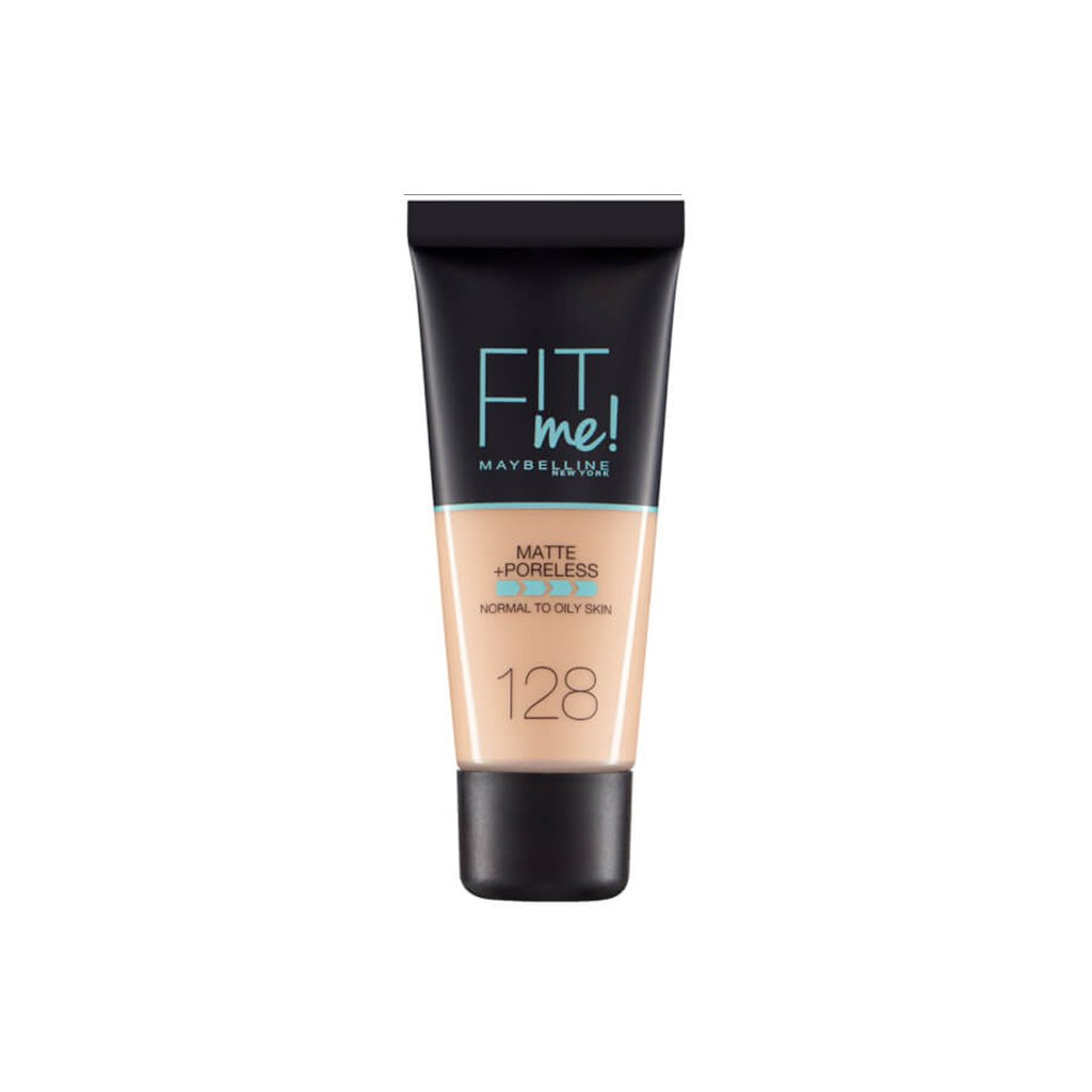 Maybelline Fit Me Matte + Poreless Foundation - 128 Warm Nude - brandstoreuae