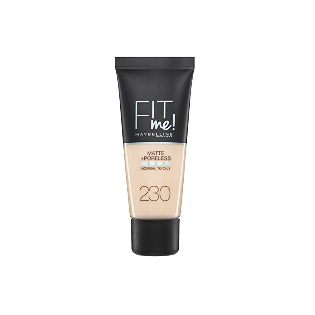Maybelline Fit Me Matte + Poreless Foundation - 230 Natural Buff - brandstoreuae