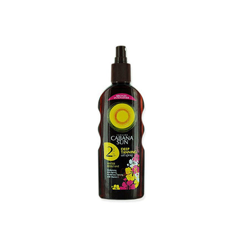 Cabana Sun - Deep Tanning Oil Spray SPF 2 - 200ml - brandstoreuae