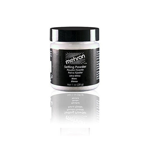 Mehron - UltraFine Setting Powder Ultra White 1 oz - brandstoreuae