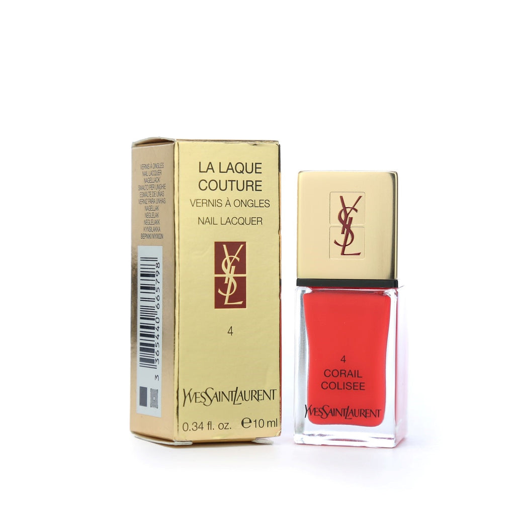 Yves Saint Laurent La Laque Nail Color - 04 Corail Coliseum 10ml - brandstoreuae
