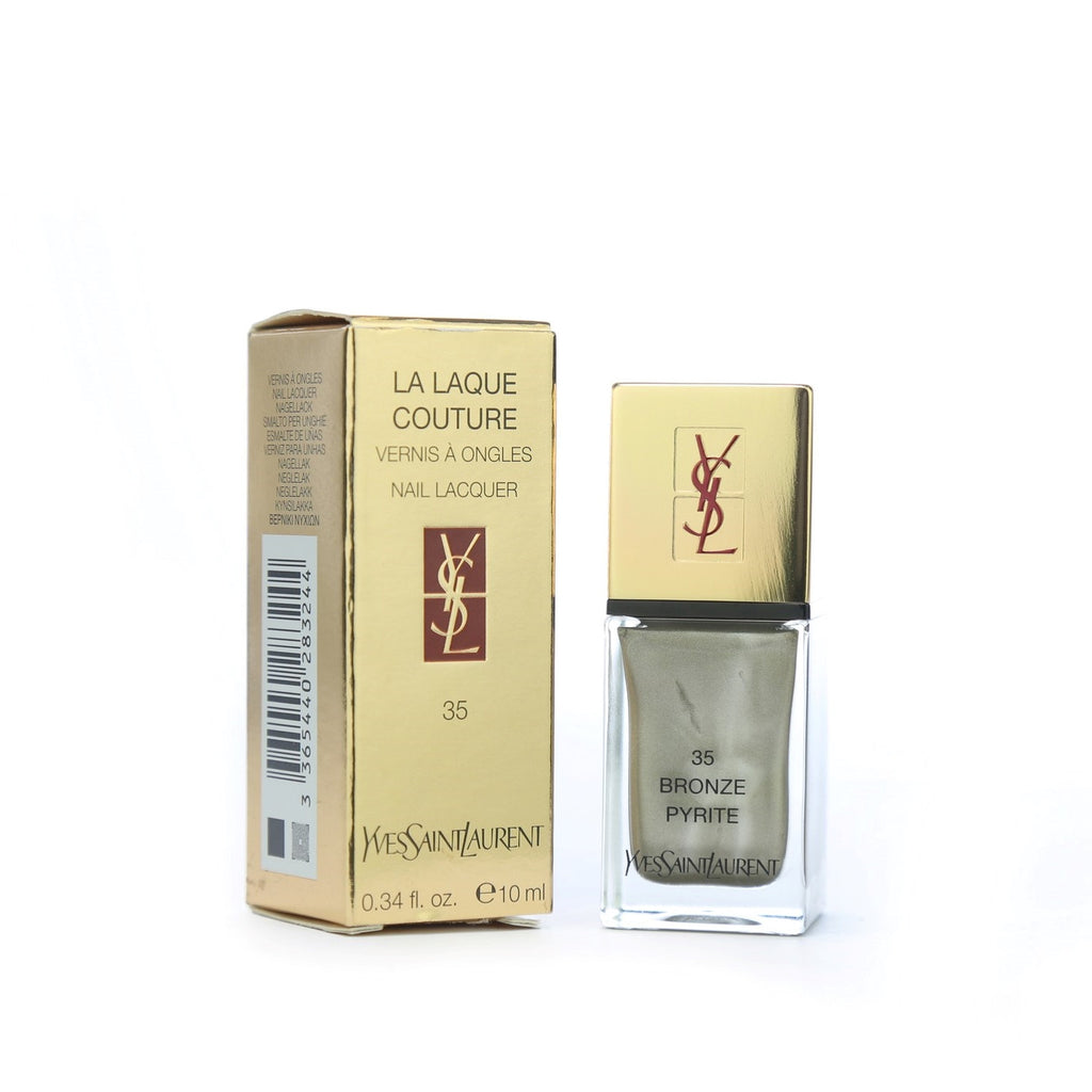 Yves Saint Laurent La Laque Nail Color - 35 Bronze Pyrite 10ml - brandstoreuae