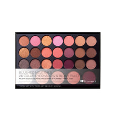 BH Cosmetics - Blushed Neutrals Palette - 26 Color Eyeshadow and Blush Palette - brandstoreuae