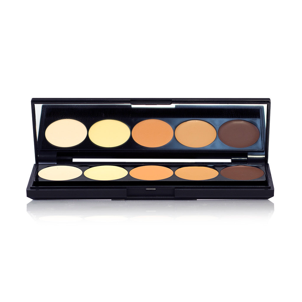 Ofra Contouring and Highlighting Crem foundation Mini Palette - brandstoreuae