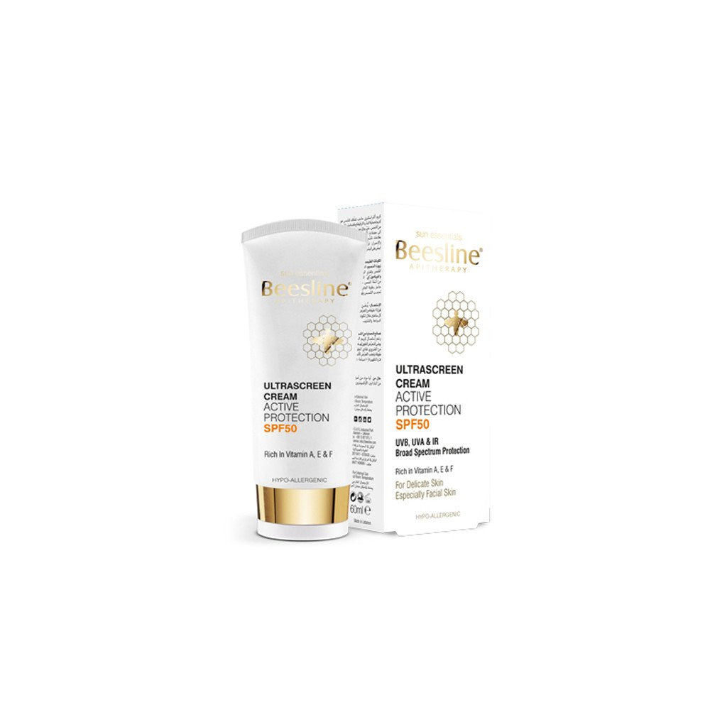 Beesline - Ultrascreen Cream Active Protection SPF50 - 60ml - brandstoreuae