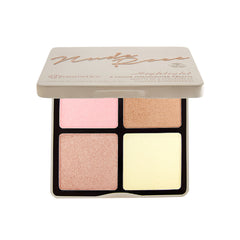 BH Cosmetics - Nude Rose - 4 Color Highlighter Palette - brandstoreuae