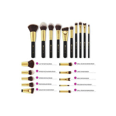 BH Cosmetics - Sculpt and Blend 3 - 10 Piece Brush Set