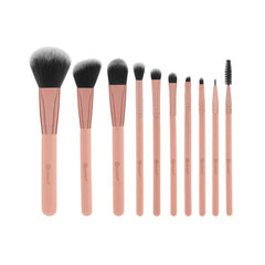 BH Cosmetics - Pretty In Pink - 10 Piece Brush Set With Cosmetic Bag - brandstoreuae