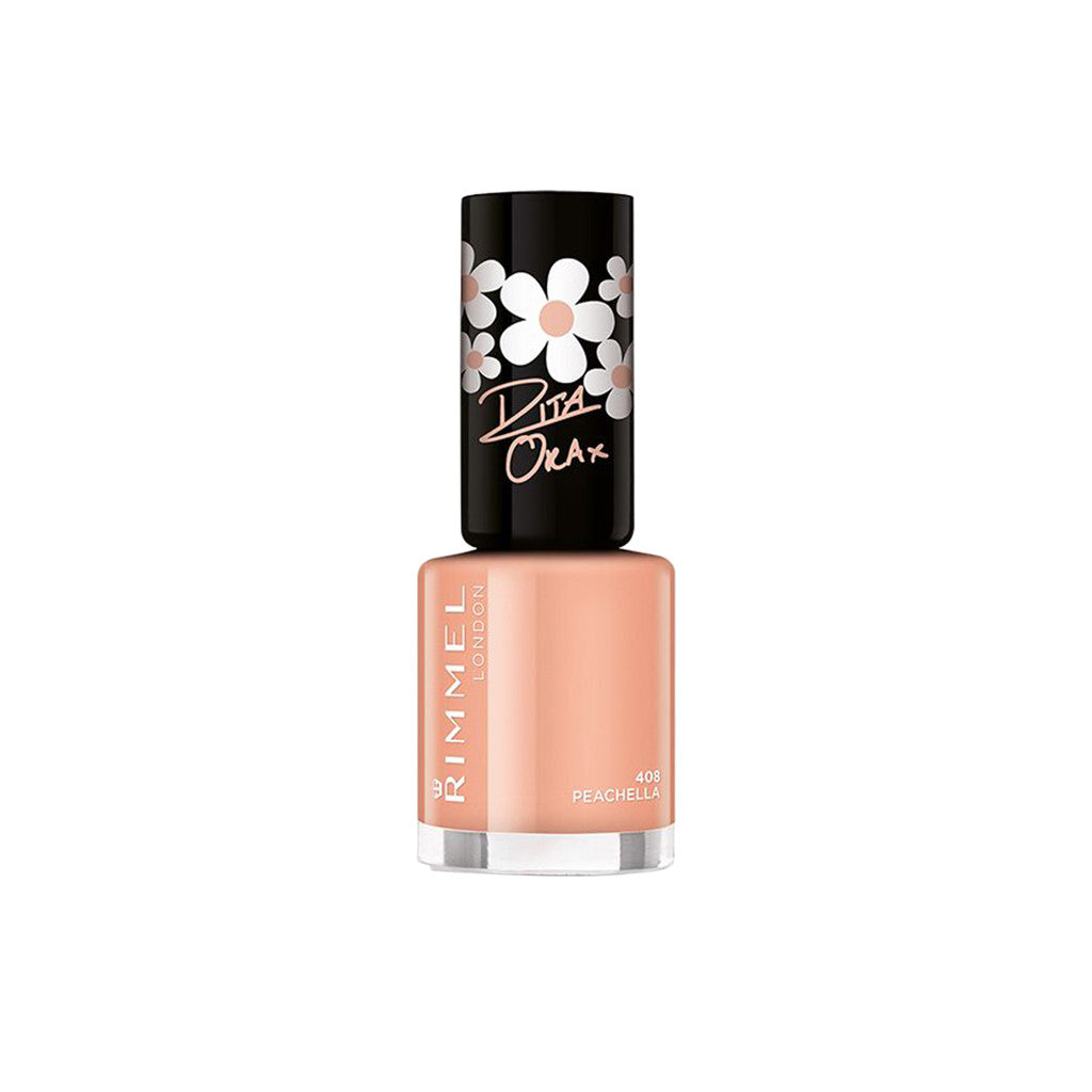 Rimmel London - Super Shine Rita Ora Nail Polish - 408 Peachella - brandstoreuae