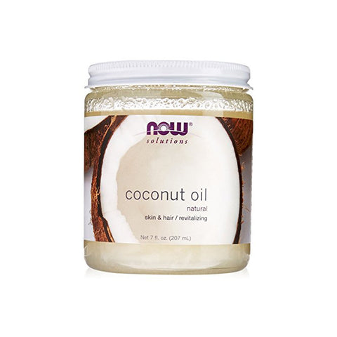 Now Solutions - Natural Coconut Oil For Skin & Hair Revitalizing - 7 fl oz.