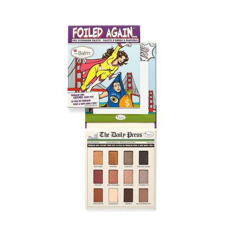 the Balm Foiled Again Eyeshadow Palette - brandstoreuae
