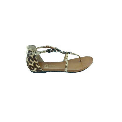 Jessica Simpson JS-White Casual Sandals - Beige