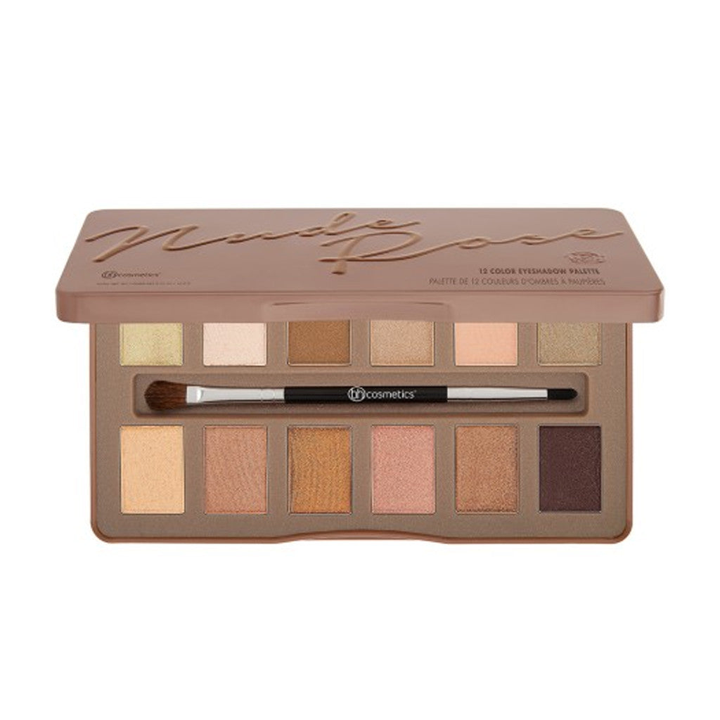 BH Cosmetics - Nude Rose - 12 Color Eyeshadow Palette - brandstoreuae