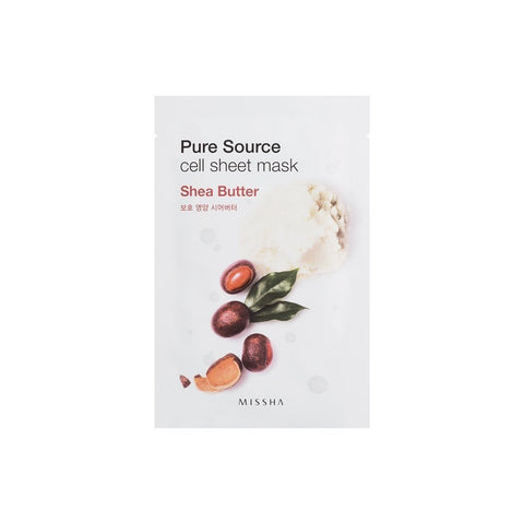 MISSHA Pure Source Cell Sheet Mask - Shea Butter - brandstoreuae