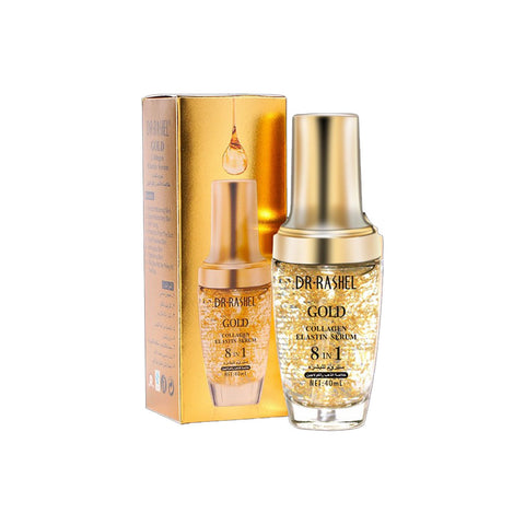 Dr Rashel - Gold Collagen Elastin Serum 8 in 1 - 40ml - brandstoreuae