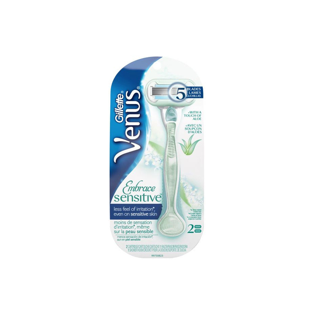 Gillette Venus Embrace Sensitive Razor - 1 Piece - brandstoreuae