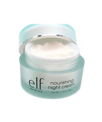 e.l.f Studio Nourishing Night Cream (Eyes, Lips Face) 50g