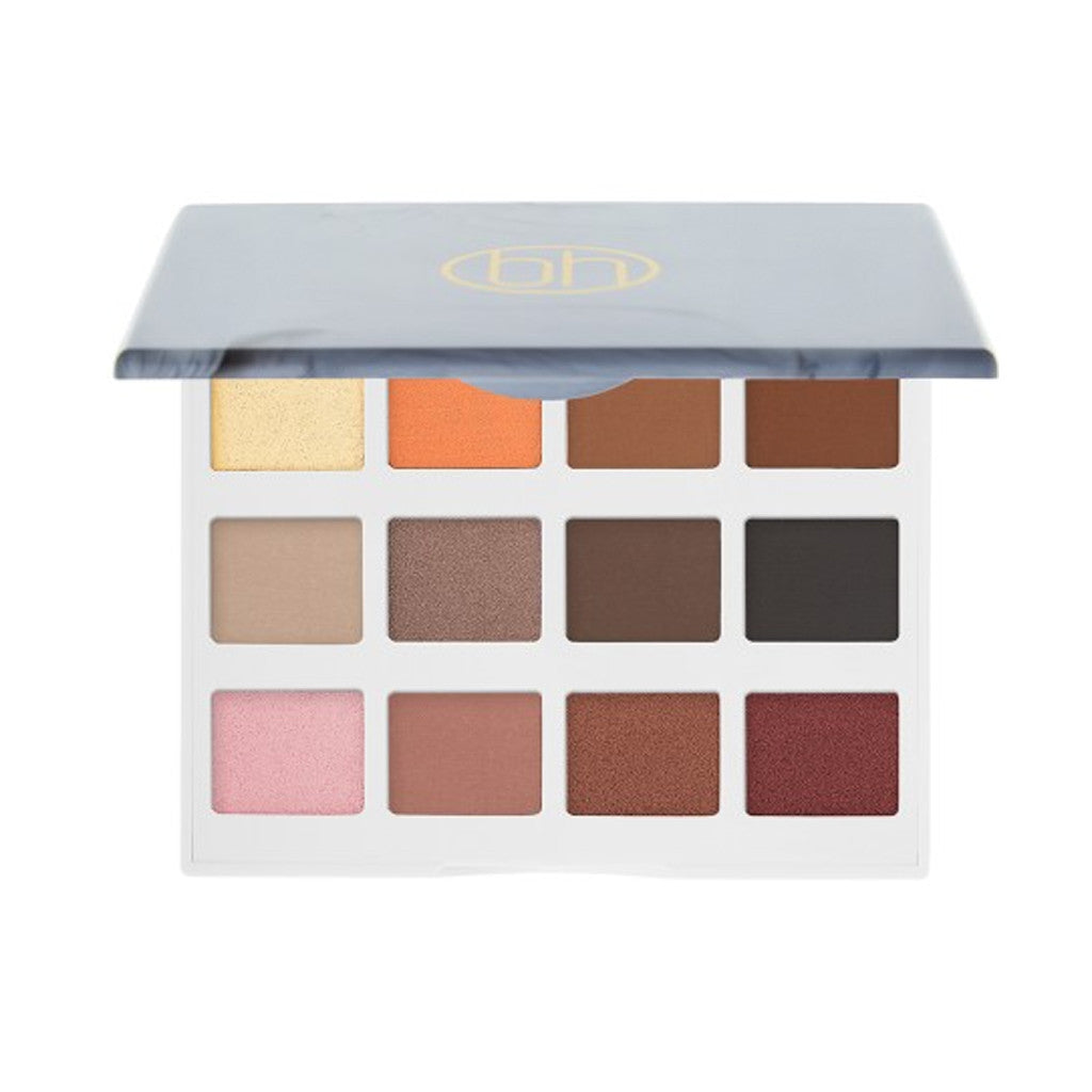 BH Cosmetics - Marble Collection - Warm Stone - 12 Color Eyeshadow Palette
