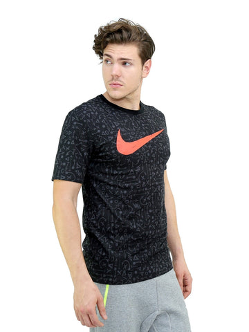 T-Shirt Nike Dri-Fit Swoosh Graphic Tee - 1