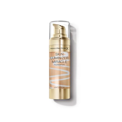 MaxFactor Skin Luminizer Miracle Liquid Foundation - 40 Light Ivory - brandstoreuae