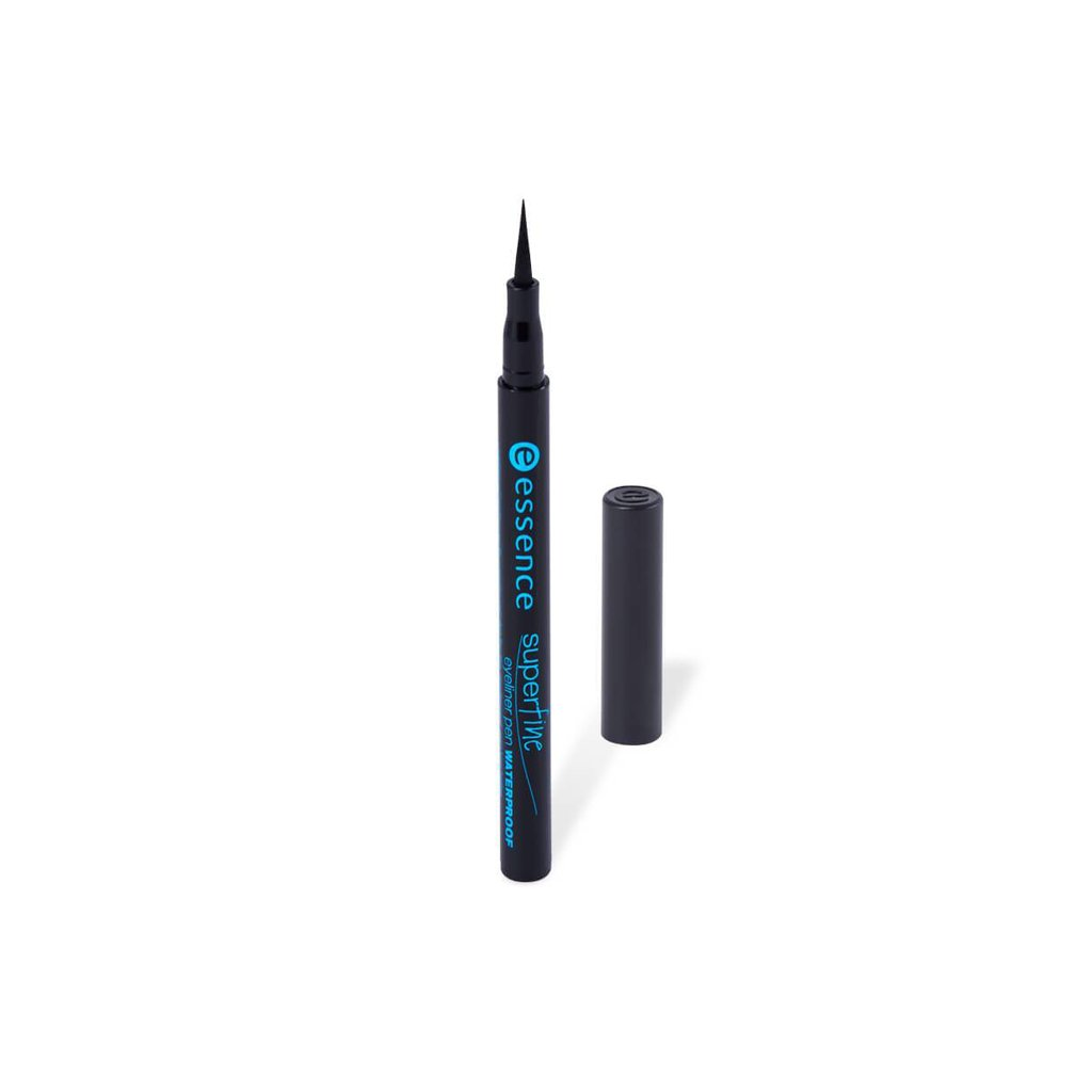 Essence Waterproof Superfine Eyeliner Pen - Black - brandstoreuae