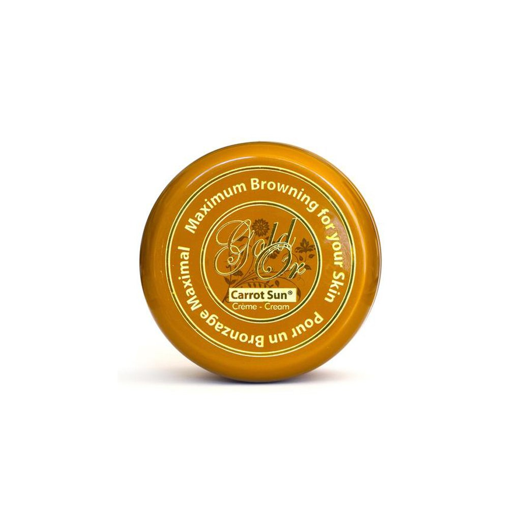 Carrot Sun Tanning Cream - Gold - 350ml - brandstoreuae