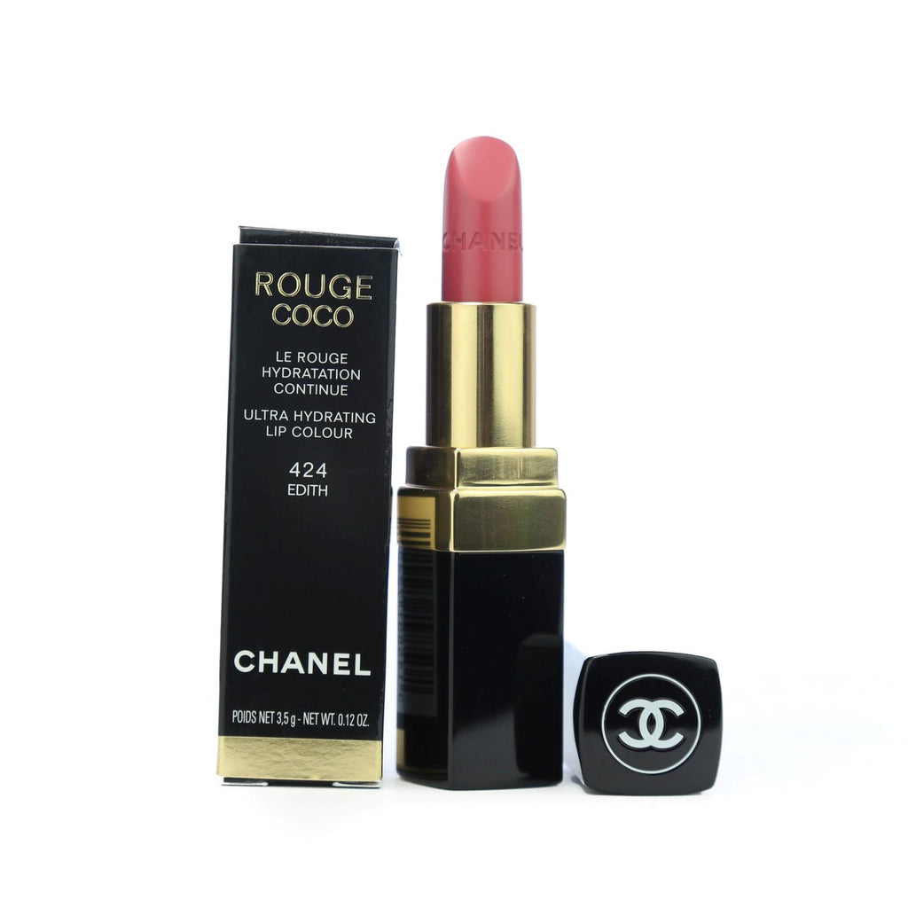 Chanel Rouge Coco LipStick 424 - Edith - Chanel-BRANDSTORE