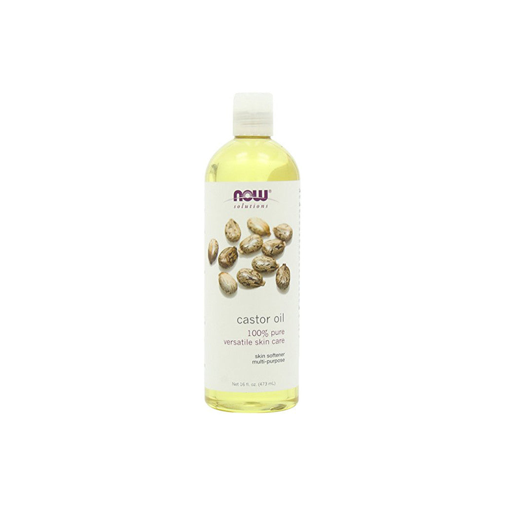Now Solutions - Castor Oil For Skin Care - 16 fl oz. - brandstoreuae