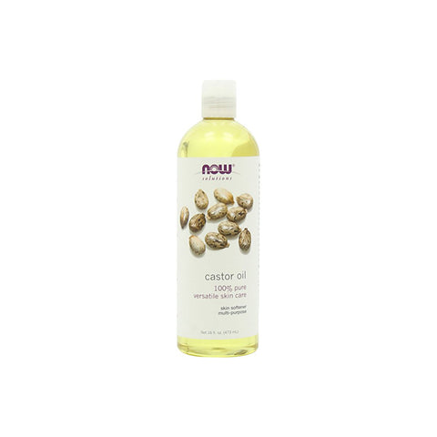 Now Solutions - Castor Oil For Skin Care - 16 fl oz.