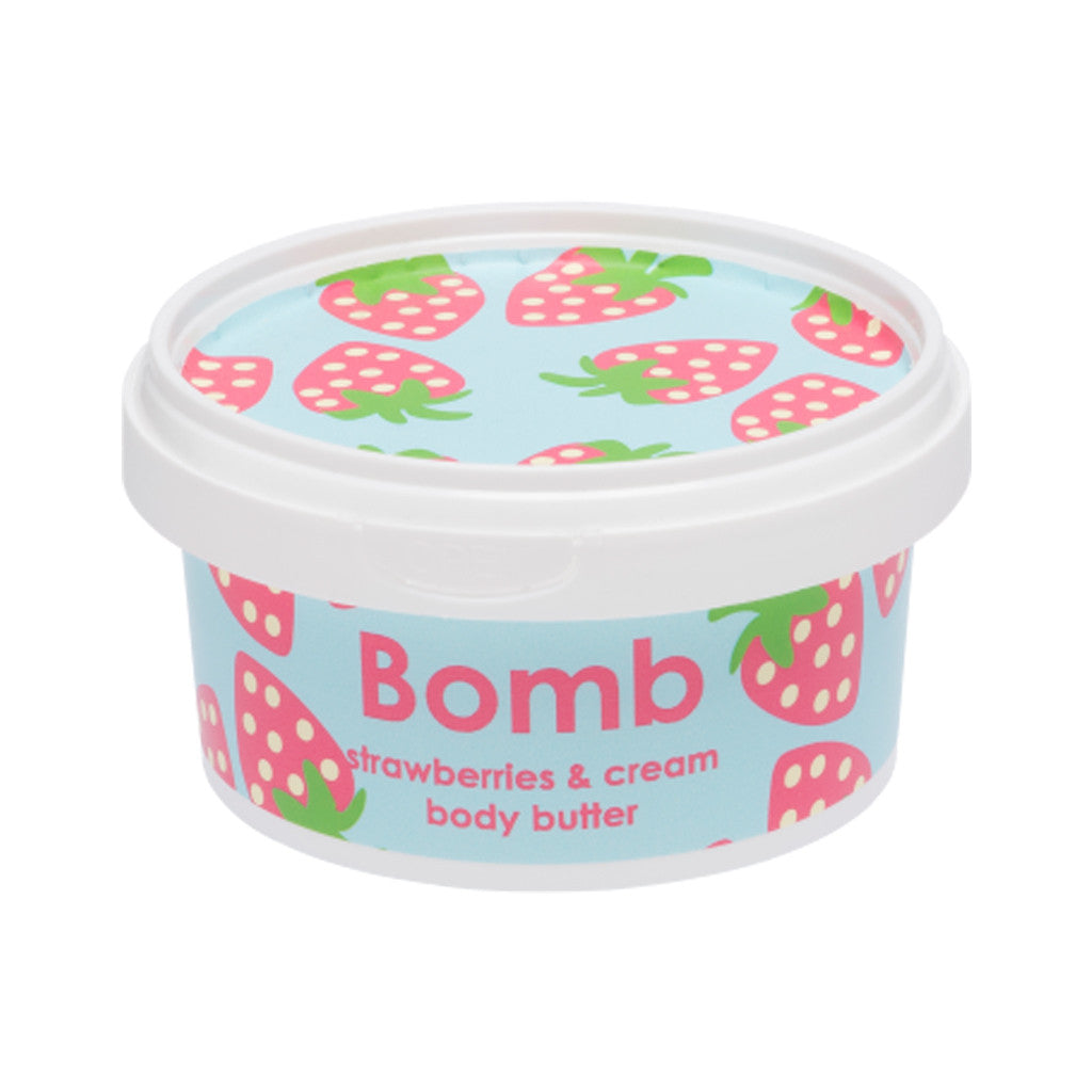 Bomb Cosmetics - Body Butter - Strawberries and Cream - brandstoreuae