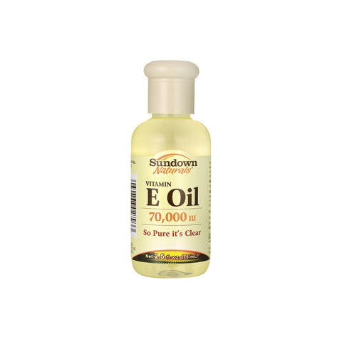 Sundown Naturals - Vitamin E Oil 70,000 IU - 2.5 fl oz