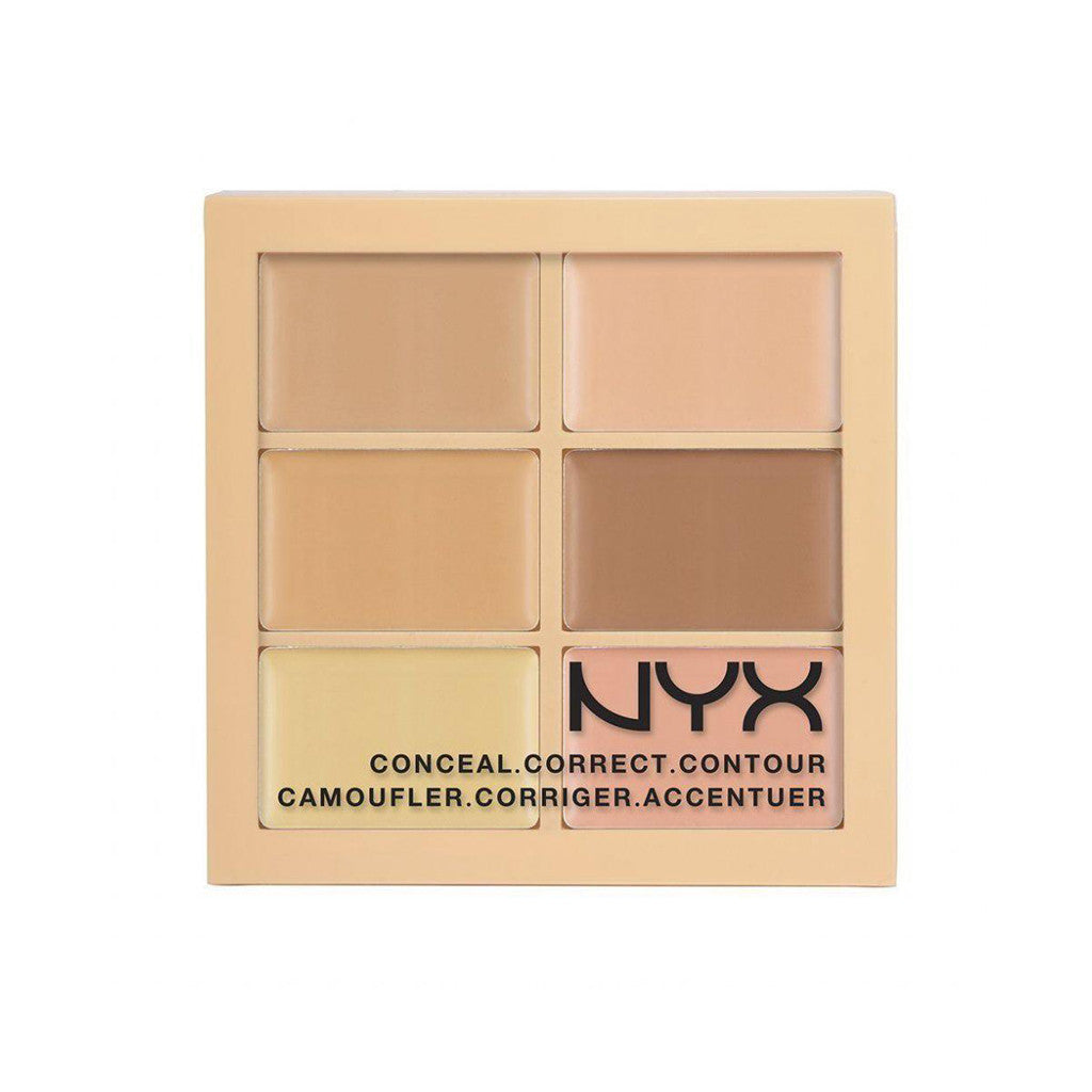 NYX Cosmetics - Conceal Correct Contour Palette - 3CP01 Light - brandstoreuae