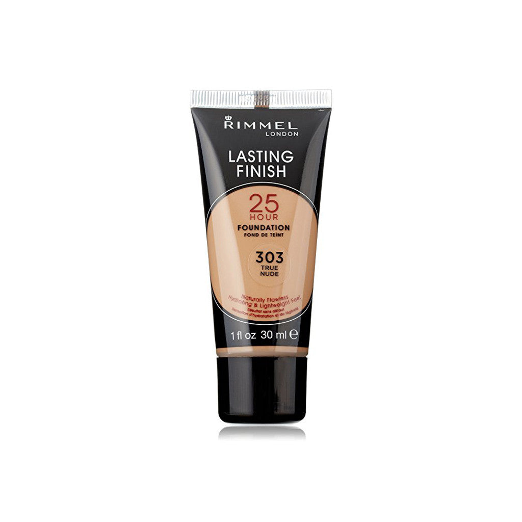 Rimmel London - Lasting Finish 25 Hour Liquid Foundation - 303 True Nude - 30 ml - brandstoreuae