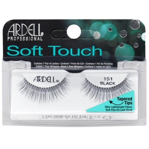 Ardell Pro Soft Touch Lashes - 151 Black - brandstoreuae