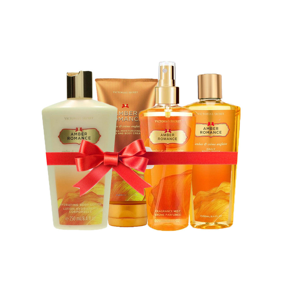 Victoria's Secret - Amber Romance Beauty Set (Combo of 4) - brandstoreuae
