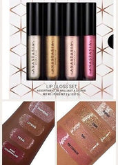 Anastasia Beverly Hills - Mini Metallic Lip Gloss Set (4pcs)