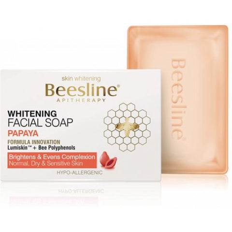 Beesline - Skin Whitening Facial Papaya Soap 85gm - brandstoreuae