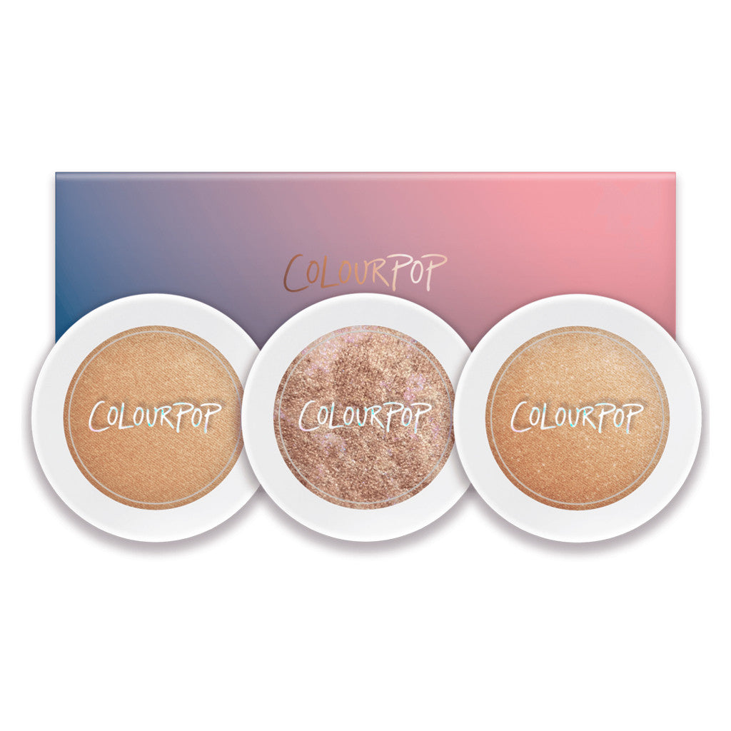 Colourpop - Highlighter Trio - Cannoli - brandstoreuae