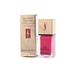 Yves Saint Laurent La Laque Nail Color - 12 Rose Renaissance 10ml - brandstoreuae