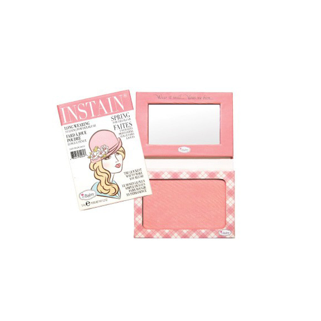the Balm Instain Long-Wearing Staining Blush - Argyle