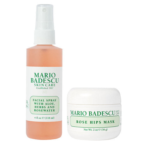 Mario Badescu - Mask And Mist Rose Duo - Facial spray -www.brandstore.ae