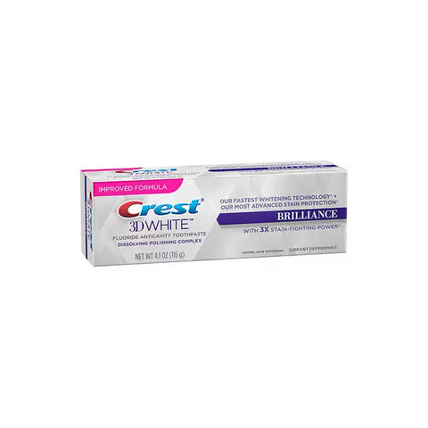 Crest 3D White BRILLIANCE Toothpaste - Mesmerizing Mint - brandstoreuae