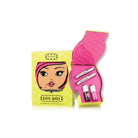 BENEFIT - Kissy Missy Lip Set Collection - 4 pcs Set - brandstoreuae
