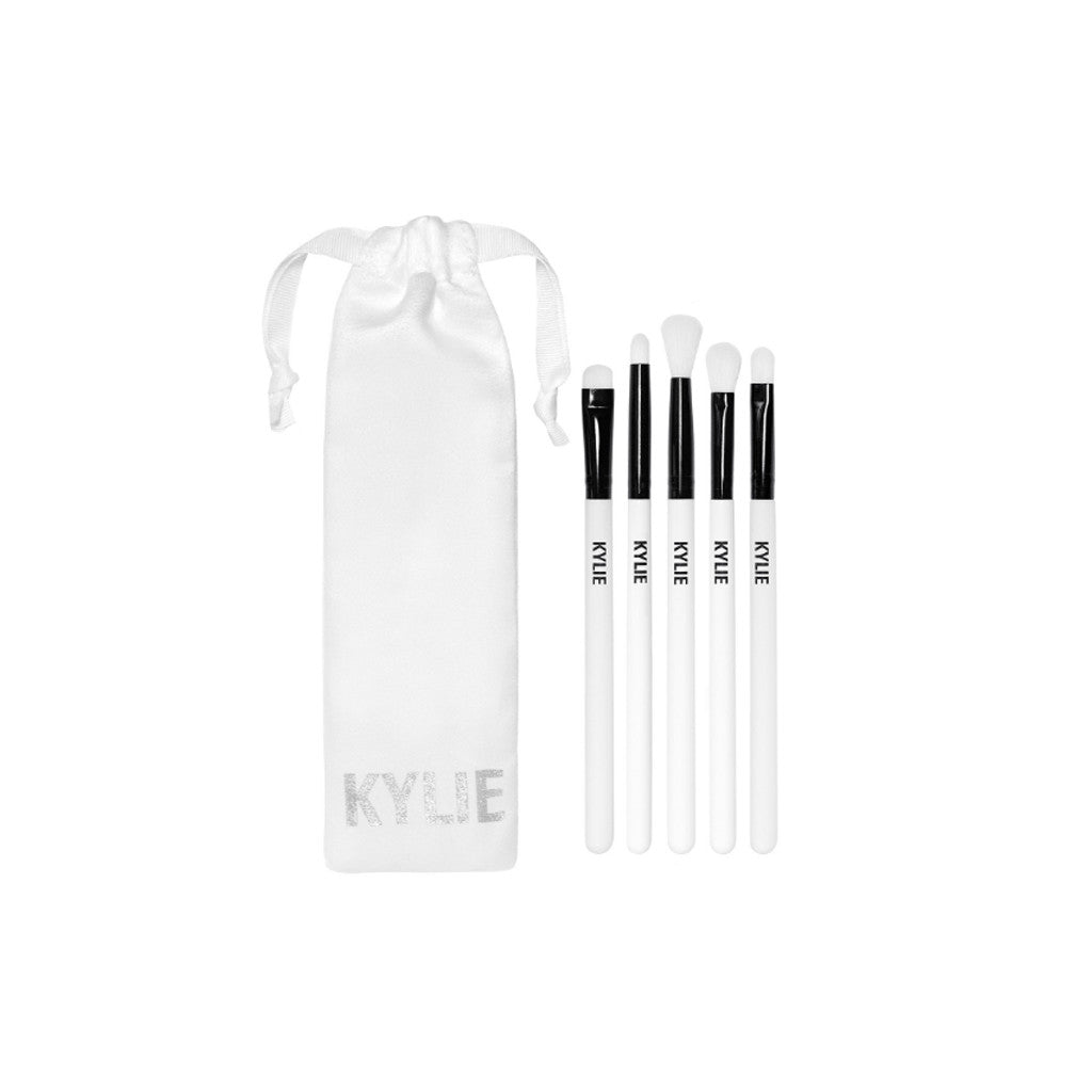 Kylie Holiday Edition - Brush Set (5 Brushes in Kylie Pouch)