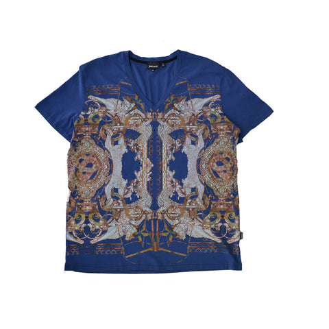 Just Cavalli Printed Men's T-Shirt