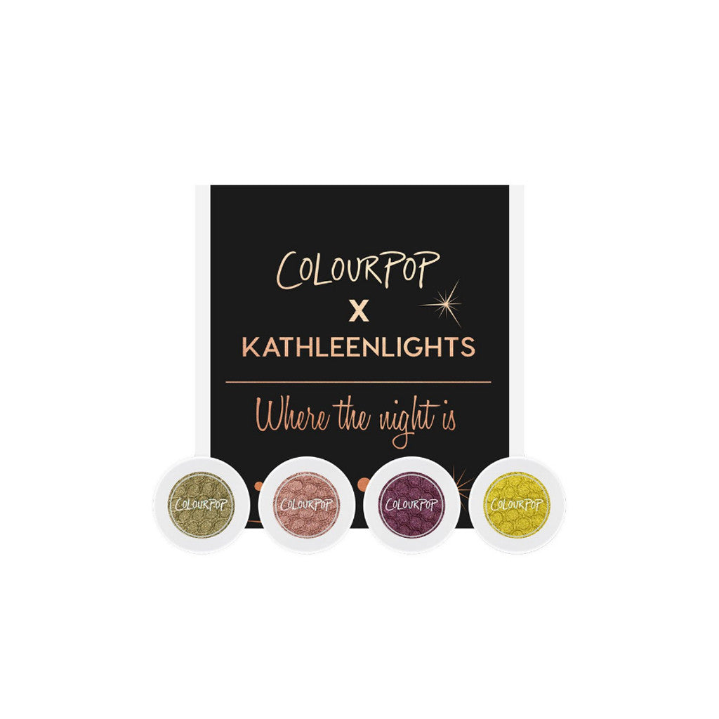 Colourpop - Eye Shadow - Where The Night Is (Combo of 4 Shades) - brandstoreuae