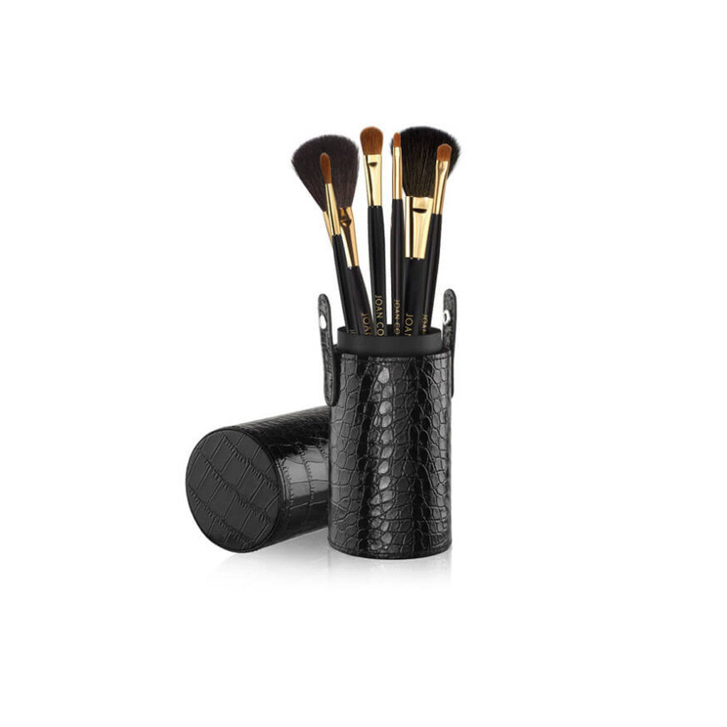 Joan Collins Timeless Beauty Good to Go Brush Caddy Complete Collection - brandstoreuae